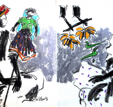 Badami Man and Badami Woman I (Set of 2)