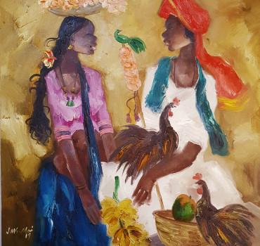 Badami Man and Woman