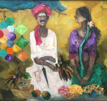Badami Man and Woman I