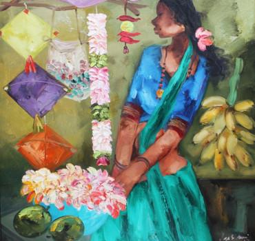 Badami Woman
