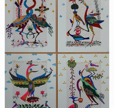 Bird series (Set of 4)