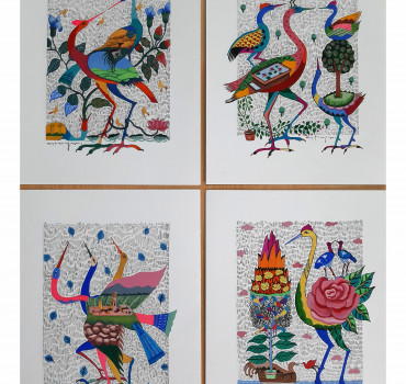 Birds (set of 4)