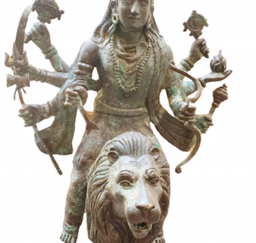 Shiva on Lion