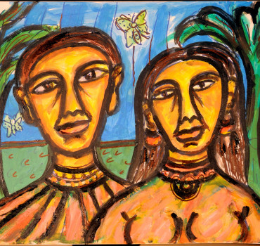 Tribal Couple