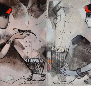 Untitled I (a) and I (b)