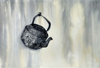 A Kettle | 24 X 36 Inches