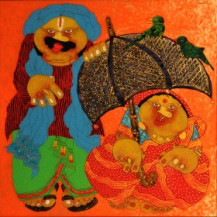 Baba Bibi 2 | 36 x 36 Inches