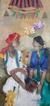 Badami people | 38''x18''