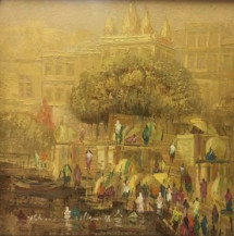 Benares I | 18 x 18 Incehs