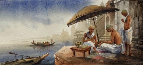 Banaras II | 10 x 22 Inches
