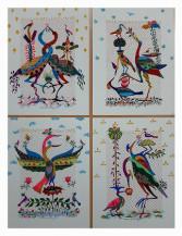 Bird series (Set of 4)   9