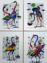 Birds | 9.5 x 7 in each