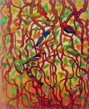 Birds | 36 X 30 Inches