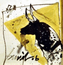 Bull | 7 x 7 Inches