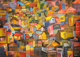 City of Colour | 18 X 25 Inches
