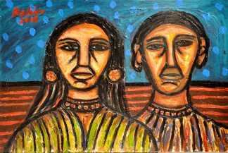 Couple | 20 x 30 in
