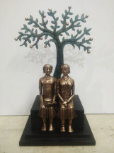 Couple With Book | 14 X 8.5 X 5 Inches