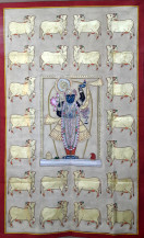 cows with krishna | 59