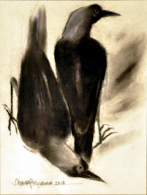 Crow | 12 X 8 Inches