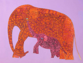 Elephant Series | 36 X 48 Inches