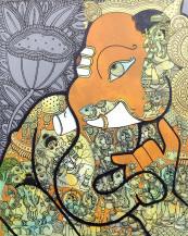 Ganesha | 16 X 20 Inches