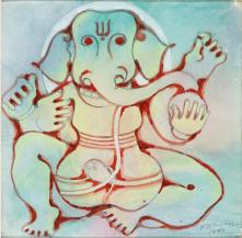 Ganesha   9.5 x 9.5 in