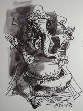 Ganesha | 16.5 X 12 Inches