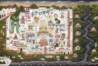 Haveli | 36 X 60 Inches