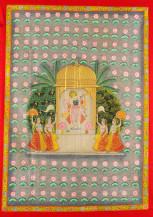 Jalvihar Chappan Bhog Darshan   60 X 42 Inches
