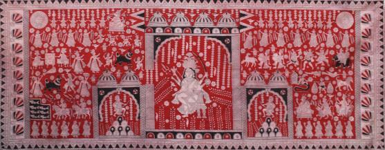 Jogni Mata    48 x 119.5 Inches