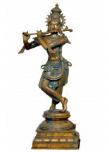 Krishna with a Flute | 24 H
