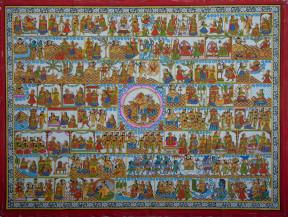 Kumar Sambhavam | 36 X 48 Inches