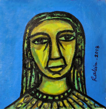 Lady | 20 X 11 Inches