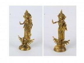 Lakshmi - Saraswati | 9 x 4.5 inches each