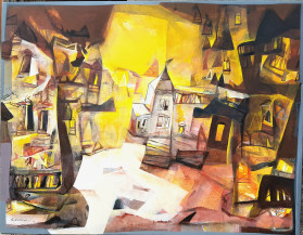 Landscape I   42 X 54 Inches