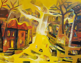 Landscape III   42 X 54 Inches