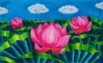 Lotus I | 14.5 x 24 inches