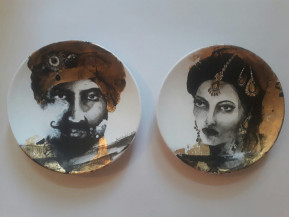 Maharaja and Maharani II | 9 Inches diameter