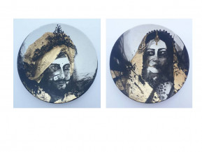 Maharaja and Maharani | 9 Inches diameter