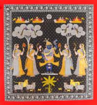 Malkacha Tipara Swarup | 50 X 46.5 Inches