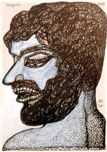 Man With Beard | 9.3 X 6.7 Inches