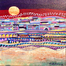Moonlight   13 X 13 Inches
