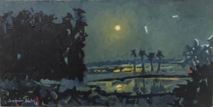 Moonlight Night II | 12 X 24 Inches