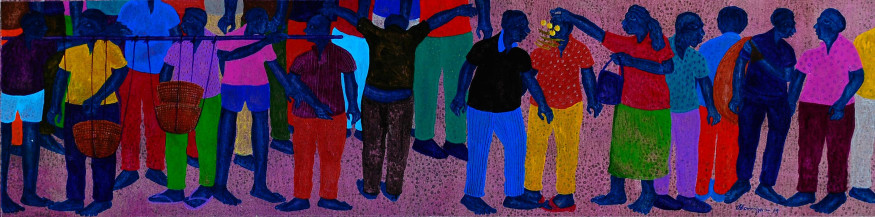 Multitude Of Life   12 X 48 Inches