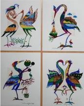 My Birds | 9'' X 7'' each