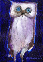 Owl | 7 X 5 Inches