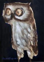 Owl II | 7 X 5 Inches