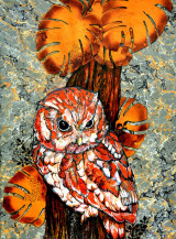 Owl II | 25 X 18.5 Inches