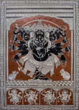 Panchmukhi Ganesha | 33 X 21.5 Inches