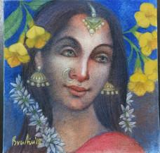 Radha | 12 X 12 Inches